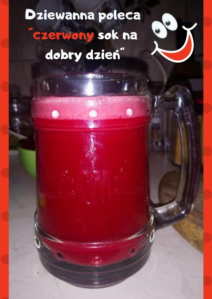 Czerwony sok na dobry dzień..jpg